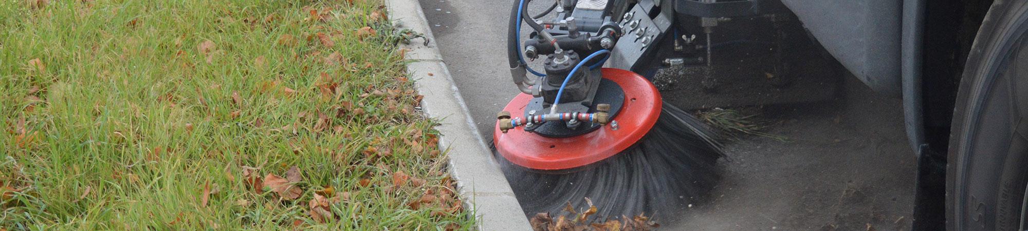 Balayage de voiries BTP ainsi que le nettoyage haute pression